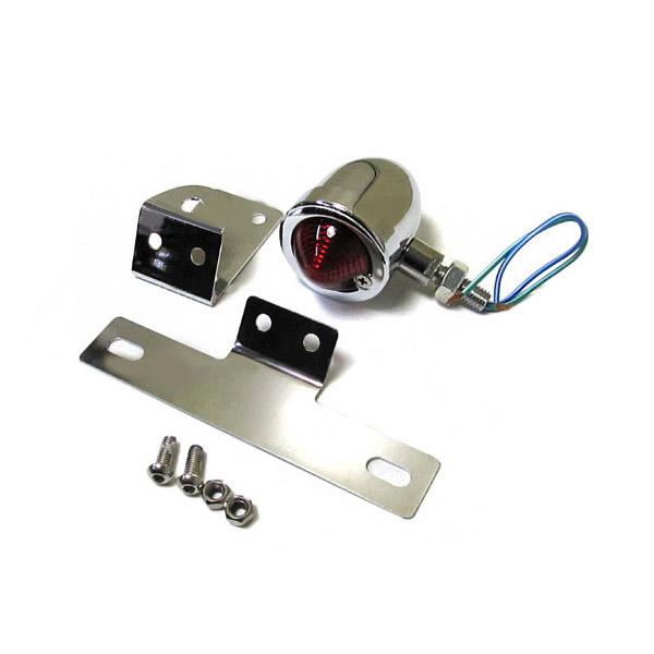 ナンバー 灯 ステー LED 定番 バレット ブレット KDX220SR D-TRACKER スーパーシェルパ バルカン 大幅にプライスダウン テールランプ