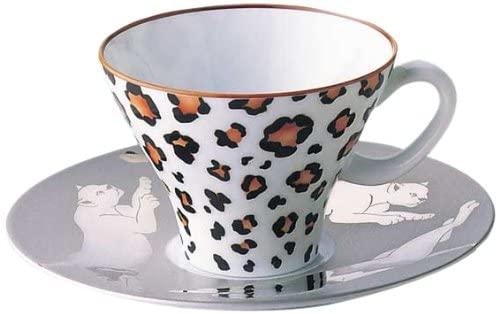 ギフト 母の日プレゼント 父の日プレゼント 贈り物 レオパ-ド 1566-1HYA 香蘭社 ティーコーヒー碗皿 オーバーのアイテム取扱☆ 販売