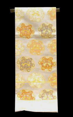 正絹 袋帯 NO4西陣プラチナ箔袋帯仕立て上がり品送料無料【smtb-TD】【yokohama】