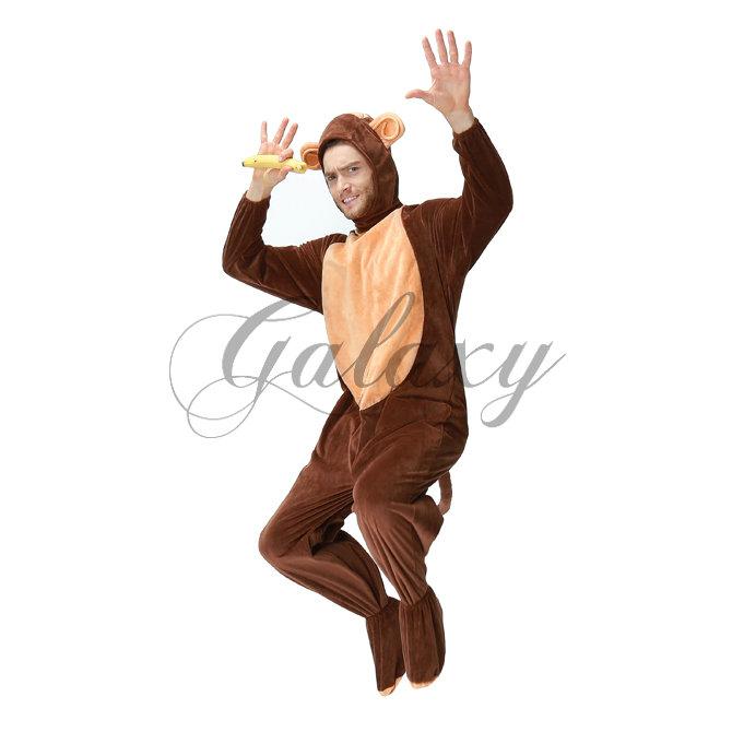 ハロウィン サル モンキー お猿さん 着ぐるみ 男性用 大人用 ステージ ダンス パーティー イベント コスプレ衣装 ps3092