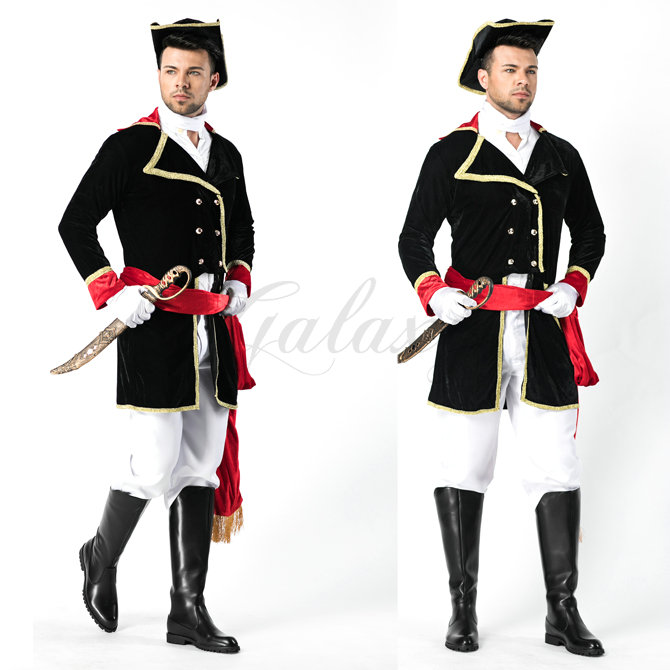 ハロウィン ヨーロッパ風 ナイト 騎士 イギリス 兵士 儀仗隊 宮廷風 男性 メンズ コスプレ衣装 ps3458