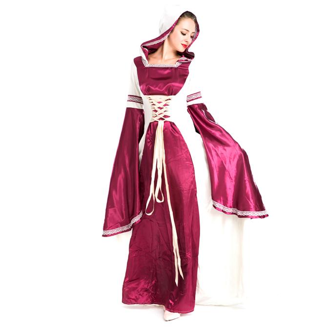 ハロウィン 宮廷風 中世期 ヨーロッパ風 女王 貴族 女神 仮装 変装 コスプレ衣装 ps3566