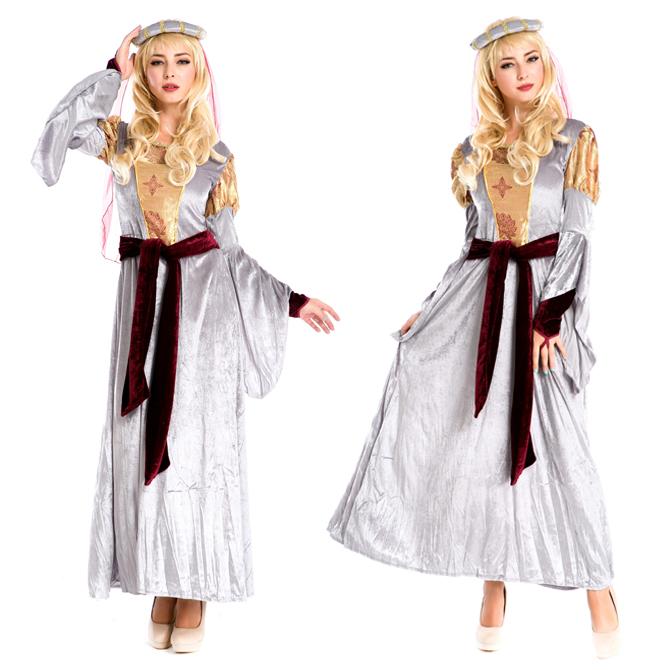 ハロウィン アラブ姫 宮廷風 中世期 ヨーロッパ風 女王 貴族 女神 プリンセス ドレス 衣装 ps3578