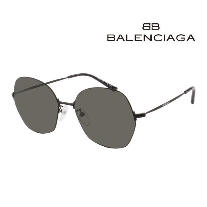 サングラス バレンシアガ 幅広い年齢層や 男女構わず憧れの魅力をお届けします 激安超特価 BALENCIAGA メンズ レディース 大人可愛い 送料込 001 BB0014S UVカット 上品オシャレ 並行輸入品