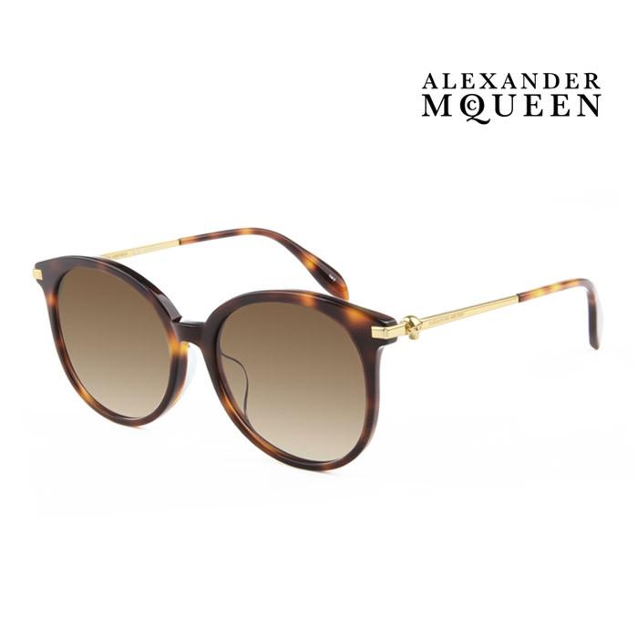 サングラス アレキサンダー 新発売 マックイーン 幅広い年齢層や 男女構わず憧れの魅力をお届けします Alexander McQueen メンズ 並行輸入品 大人可愛 上品オシャレ 002 レディース UVカット AM0135SA 毎日続々入荷