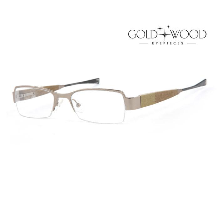 幅広い年齢層や 男女構わず憧れの魅力をお伝え致します 高級品 GOLDWOOD ゴールドアンドウッド メガネフレーム メンズ レディース 並行輸入品 オシャレ 大人可愛い 伊達眼鏡 上品 C21.68 GW 品質保証