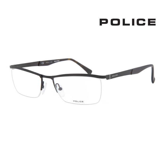 メガネ ポリス 幅広い年齢層や 男女構わず憧れの魅力をお伝え致します POLICE メンズ ふるさと割 人気の定番 レディース 大人可愛い V8973 627 並行輸入品 伊達眼鏡 オシャレ 上品