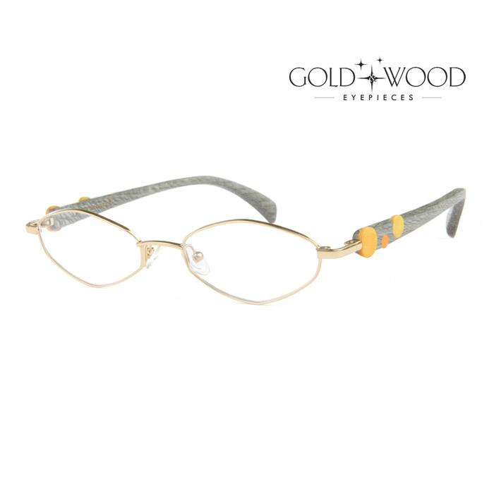 幅広い年齢層や 送料無料激安祭 男女構わず憧れの魅力をお伝え致します GOLDWOOD ゴールドアンドウッド メガネフレーム メンズ レディース GC37 大人可愛い 上品 伊達眼鏡 並行輸入品 GW400.6 オシャレ 入手困難