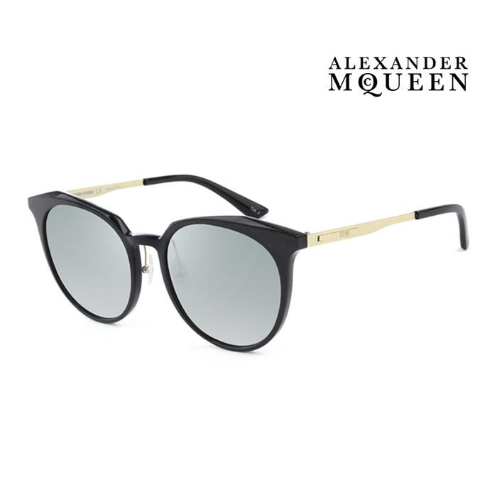 サングラス アレキサンダー マックイーン 幅広い年齢層や 男女構わず憧れの魅力をお届けします Alexander McQueen メンズ 大人可愛い 激安挑戦中 001 上品オシャレ 公式 並行輸入品 MQ0108SK レディース UVカット