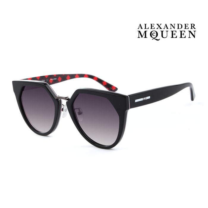 サングラス 選択 アレキサンダー マックイーン 幅広い年齢層や 男女構わず憧れの魅力をお届けします Alexander McQueen メンズ 大人可愛い UVカット 002 並行輸入品 レディース セール MQ0149SA 上品オシャレ