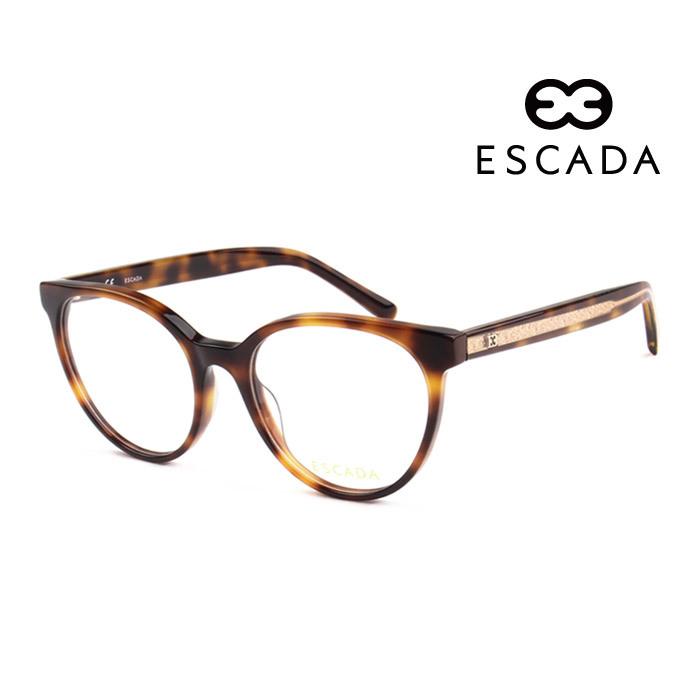 激安通販専門店 アウトレット☆送料無料 メガネ エスカーダ 幅広い年齢層や 男女構わず憧れの魅力をお伝え致します ESCADA メンズ レディース 上品 752 オシャレ 大人可愛い VES 並行輸入品 伊達眼鏡 B23