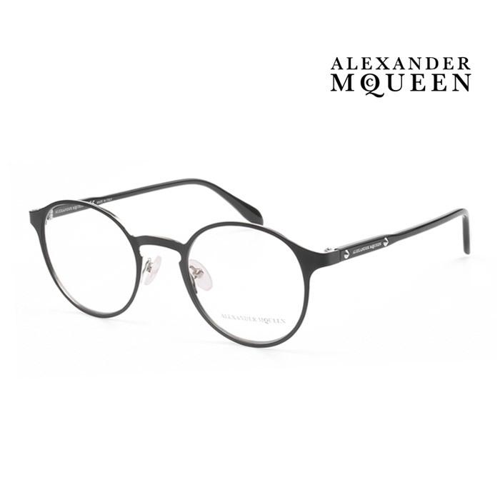 メガネ Alexander ブランド買うならブランドオフ McQueen アレキサンダー マックイーン メガネフレーム メンズ レディース AM0079O 伊達眼鏡 オシャレ 並行輸入品 002 アウトレット☆送料無料 大人可愛い 上品
