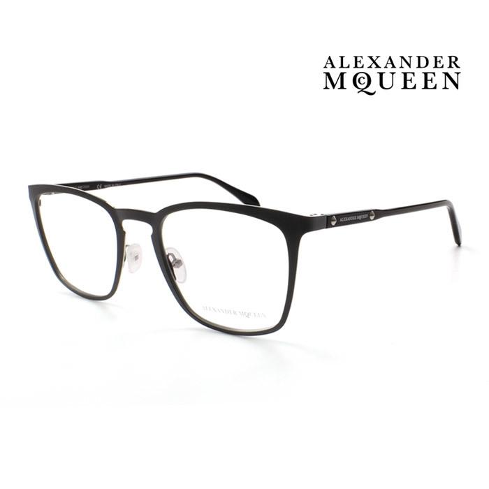 メガネ Alexander McQueen アレキサンダー マックイーン メガネフレーム メンズ レディース 並行輸入品 002 上品 伊達眼鏡 大人可愛い オシャレ AM0167O 受賞店 通信販売