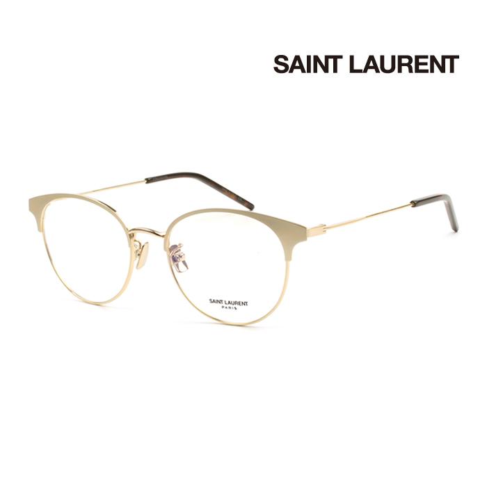 メガネ サンローラン 幅広い年齢層や 贈呈 男女構わず憧れの魅力をお伝え致します SAINT LAURENT メンズ レディース 上品 SL236F 2020 オシャレ 大人可愛い 004 並行輸入品 伊達眼鏡