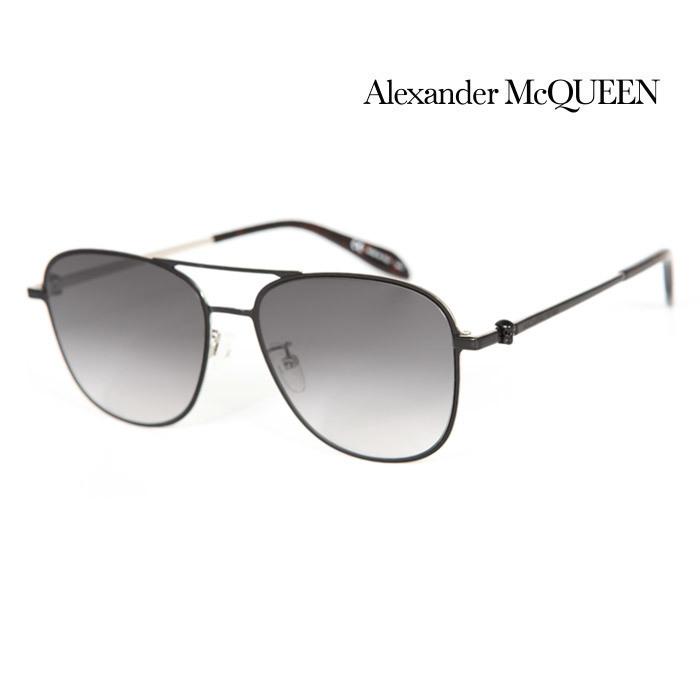 サングラス アレキサンダー マックイーン ファッション通販 幅広い年齢層や 男女構わず憧れの魅力をお届けします Alexander 入手困難 McQueen メンズ AM0187SK 002 上品オシャレ UVカット 並行輸入品 大人可愛い レディース