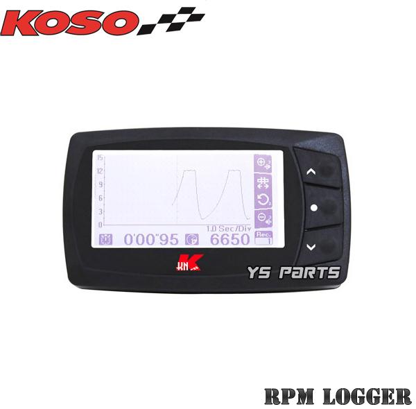 【正規品】KOSO RPMロガータコメーターアドレスV50アドレスV100レッツ2アドレス110アドレスV125Gレッツ4セピアZZアドレスV125Sレッツ5