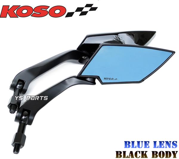 KOSOの正規商品 安物の偽物にご注意下さい 本物正規品 KOSO 2020新作 アクシス90ジョグ80ジョグ90ジョグ100 リモコンジョグZRSA16JBW'S100BW'S125XグランドアクシスシグナスXマジェスティ125 TTミラー青レンズ 新作販売