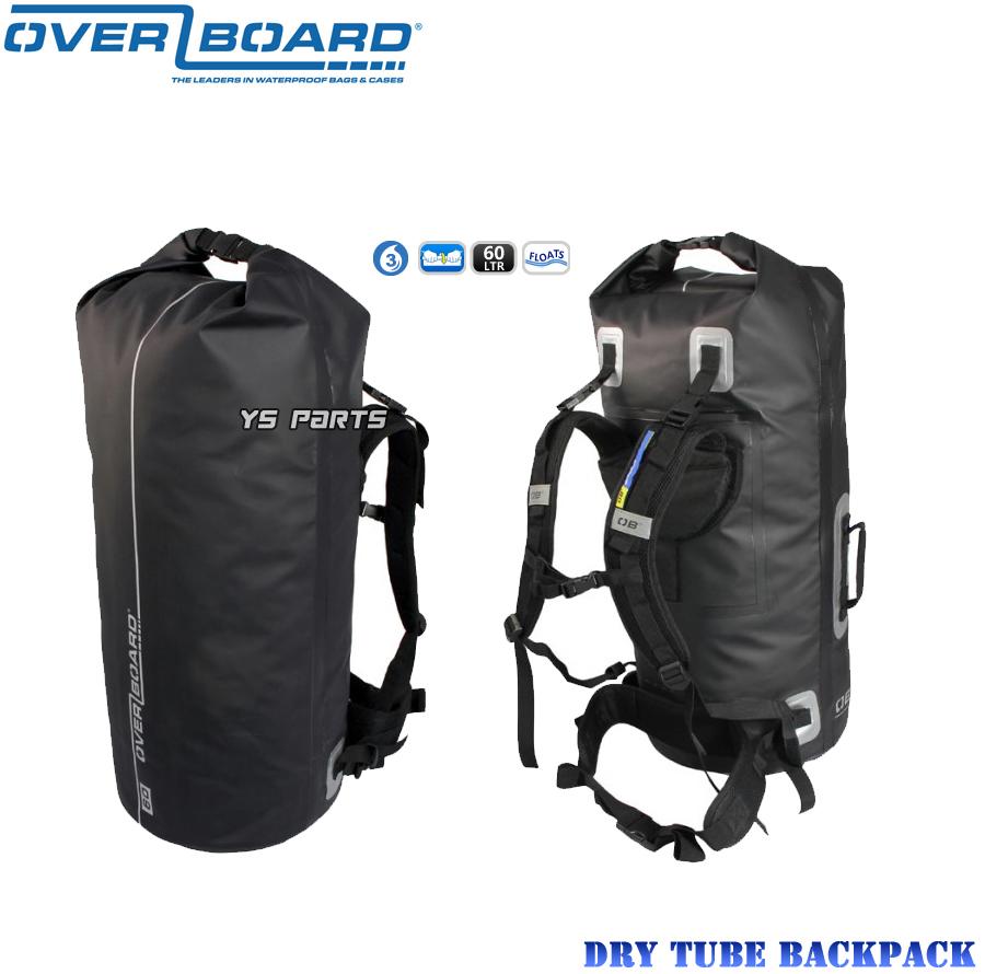【正規品】オーバーボード 大容量60L防水バックパック/シートバッグ XJR400XJR1200XJR1300SR400FZ1フェザーWR250XWR250RXT250X等に