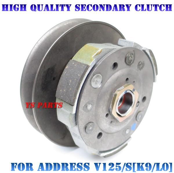 【組込済フルキット】高品質セカンダリークラッチ+カム一式 アドレスV125S(CF4MA/L0)/アドレスV125G(CF4EA/K9)