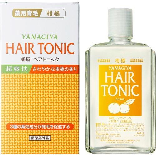 天然柑橘エキスが頭皮を柔軟に保つヘアトニック 柳屋 ヘアトニック 返品不可 柑橘 240mL 正規認証品!新規格