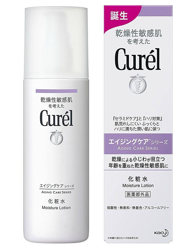 肌荒れしにくいハリに満ちた潤い肌に 花王 Curel キュレル 化粧水 超定番 エイジングケアシリーズ 140ml 超特価
