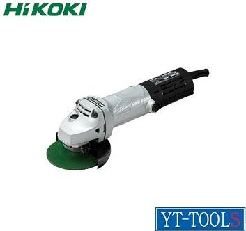 HiKOKI 電気ディスクグラインダ【型式 G 10SL5】《研削・研磨/電動工具/サンダ/低速高トルク形/プロ/職人/DIY》