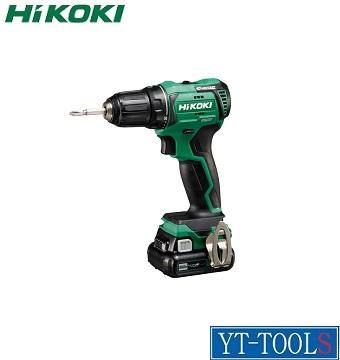 HiKOKI (コードレス)ドライバドリル【型式 DS12DD(2LS)】《10.8V 4.0Ah》【電動工具/締付け・穴あけ/充電式/現場/プロ/職人/DIY】※フルセット