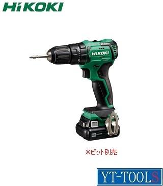 HiKOKI (コードレス)振動ドライバドリル【型式 DV12DD(2LS)】(10.8V 4.0Ah)《電動工具/締付け・穴あけ/充電式/現場/プロ/職人/DIY》※フルセット