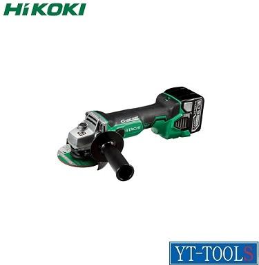 HiKOKI (コードレス)ディスクグラインダ【型式 G14DBBVL(LYPK)】(14.4V 6.0Ah)《電動工具/研削・研磨/充電式/現場/プロ/職人/DIY》※フルセット