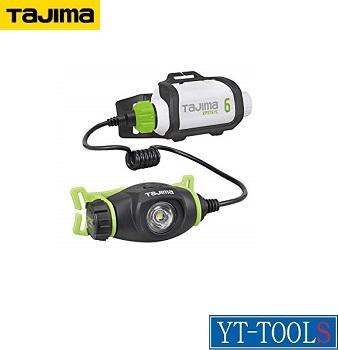 TAJIMA ペタLEDヘッドライトU303セット2【型式 LE-U303SP2】《工事・照明用品/作業灯・照明用品/ヘッドライト(LED)/夜間作業/現場/整備/職人/プロ/アウトドア》※充電池セット(LE-3757C)