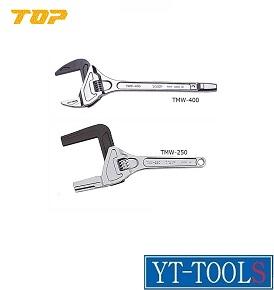 TOP工業 たて型モーターレンチ【型式 TMW-400】《配管継手締付け/狭い場所/設備工/プロ/DIY》