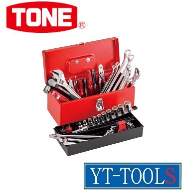 TONE ツールセット【型式 TSA4120】《工具セット/作業工具/セット内容:43点/自動車整備/プロ/職人/DIY》※メーカー取寄品