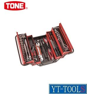 TONE ツールセット(メンテナンス用)【型式 700SD】《手作業工具/工具セット/手提げタイプ/整備用工具セット/プロ/職人/整備/DIY》※メーカー取寄せ品