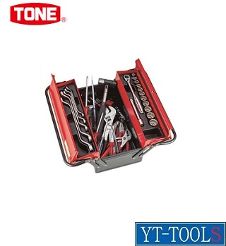TONE ツールセット(メンテナンス用)【型式 700S】《手作業工具/工具セット/手提げタイプ/整備用工具セット/プロ/職人/整備/DIY》※メーカー取寄せ品