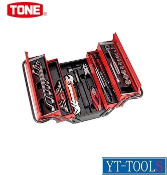TONE ツールセット(メンテナンス用)【型式 700SX】《手作業工具/工具セット/手提げタイプ/整備用工具セット/プロ/職人/整備/DIY》※メーカー取寄せ品