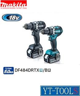 Makita(マキタ) 充電式ドライバドリル【型式 DF484DRGX(B)】《電動工具/コードレス/ドリルドライバー/プロ/職人/整備/現場/工場/DIY/18V/6.0Ah/フルセット》