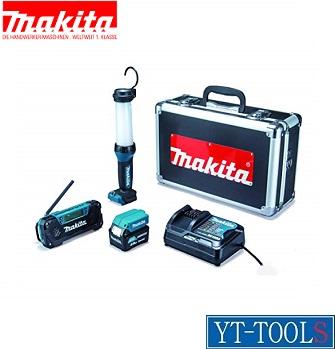 Makita 防災用コンボキット【型式 CK1008】(10.8V 4.0Ah)《電動工具/防災用品セット/災害・緊急/現場》※メーカー取寄せ品