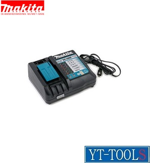 Makita(マキタ) メロディ付急速充電器【型式 DC18RF(JPADC18RF)】《電動工具/充電器/USB端子付き/プロ/職人/現場/DIY》