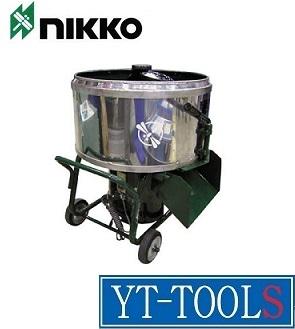 NIKKO(トンボ工業) モルタルミキサー《モルミニ2》【型式 TMM-2】《土木作業・大工用品/小型・軽量/ミキサー/モルタル用/容量:60ℓ/プロ/職人/現場》※メーカー取寄せ品・直送品