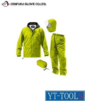 OTAFUKU GLOVE(おたふく手袋) レインファクトリー コンフォートタイプ【型式 RF-13】《衣料保護具/雨具/カッパ