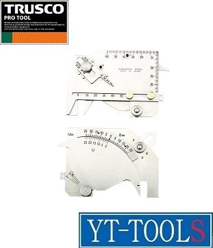 TRUSCO(トラスコ中山) 溶接ゲージ【型式 TWGU-8M】《測定・計測用品/測定工具/ゲージ/溶接ゲージ/プロ/職人》