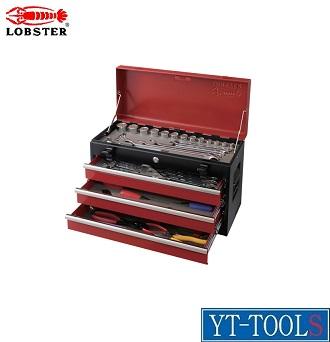 LOBSTER(ロブスター) ツールセット【型式 EBI245】《手作業工具/工具セット/チェストタイプ/整備用工具セット/プロ/職人/整備/DIY》※メーカー取寄せ品