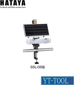 HATAYA(ハタヤリミテッド) ソーラーセンサーライト【型式 SSL-06】《環境改善用品/防災・防犯用品/防犯用センサーライト/防犯/ソーラー充電/屋外用》※メーカー取寄せ品