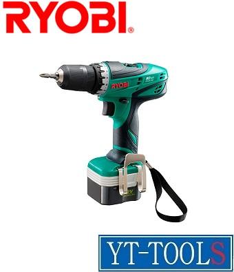 RYOBI 充電式ドライバドリル RYOBI【型式 BD-127】《穴あけ・締付工具/12V/フルセット/最大トルク24N/ケース付/プロ/DIY》, 介護食のさいわい便:055f55ff --- jphupkens.be