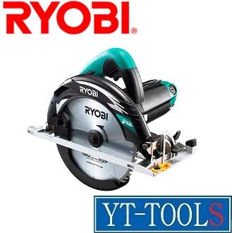 RYOBI 電子丸ノコ【型式 W-763ED】《電動工具/切断/切断機/丸ノコ/チップソー/職人/プロ/DIY》