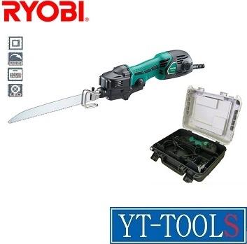 RYOBI 小型レシプロソー【型式 RJK-120KT】《電動工具/切断/LED付き/プロ/職人/DIY》※ケース有り・フルセット・メーカー取り寄せ品