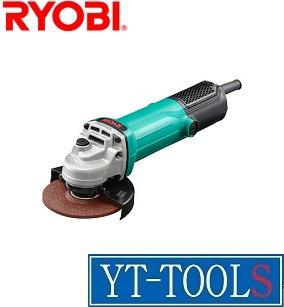 RYOBI ディスクグラインダ【型式 G-1061】《電動工具/研削・研磨/プロ/職人/工場/現場/DIY》