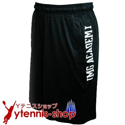 IMGアカデミー(ニック・ボロテリー テニスアカデミー)IMG メンズ トレーニングショートパンツ ブラック【あす楽】