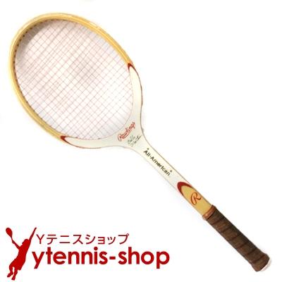 ヴィンテージラケット ローリングス(Rawlings) ウッドテニスラケット【あす楽】