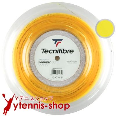 テクニファイバー Tecnifibre ロールガット 40%OFFの激安セール テニス 新パッケージ Tecnifiber シンセティックガット 即納 Synthetic 1.25mm Gut 200mロール 1.35mm あす楽 1.30mm イエロー ナイロンストリングス
